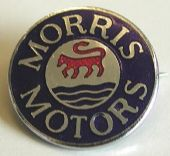 Morris Motors - Enamel Badge